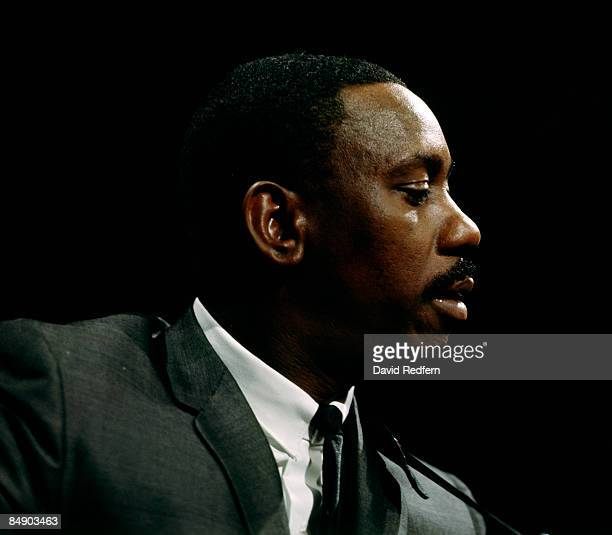 CENTRE Photo of Wes MONTGOMERY Wes Montgomery performing on tv show portrait profile