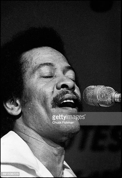 American Jazz musician Allen Toussaint performs onstage during the New Orleans Jazz Festival New Orleans Louisiana April 1977