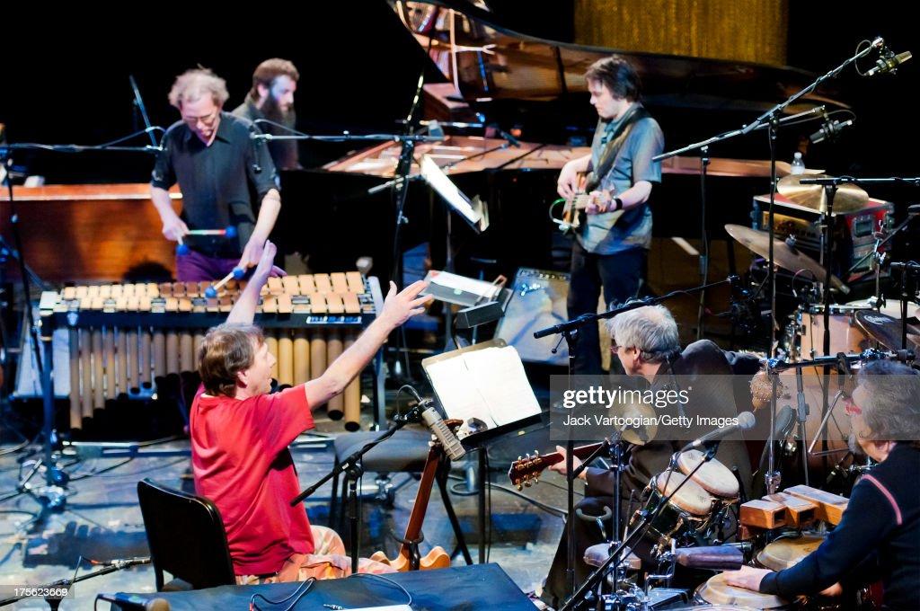 Zorn, Wollesen, Saft, Dunn, Baron, & Baptista At The David H. Koch Theater : News Photo