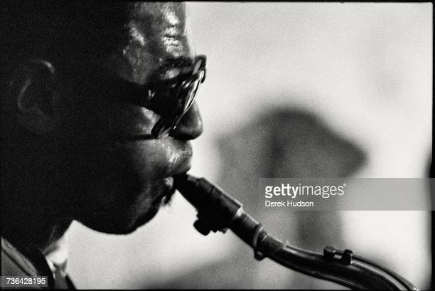 American jazz musician Archie Shepp at the Campagne Premiere jazz club in Montparnasse Paris in 1979