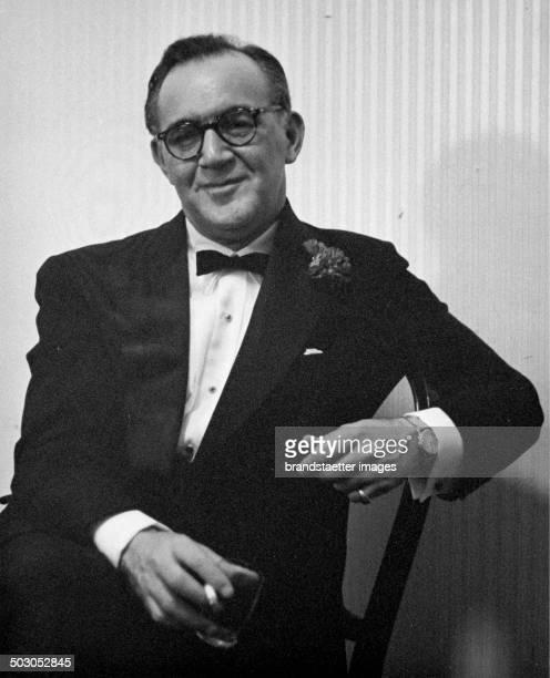 American jazz musician Benny Goodman About 1958 Photograph by Franz Hubmann