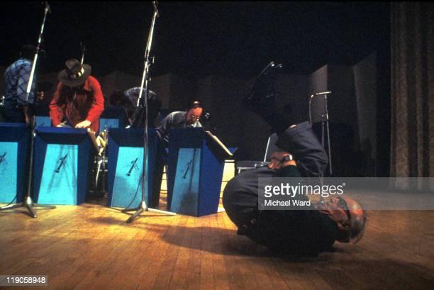 American jazz musician Benny Goodman on stage at Carnegie Hall 17 Jan 1978