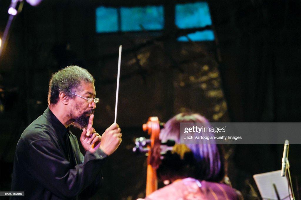 Butch Morris At A Vision Festival Concert : News Photo