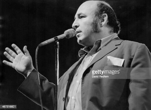 American jazz musician George Wein on stage 1978