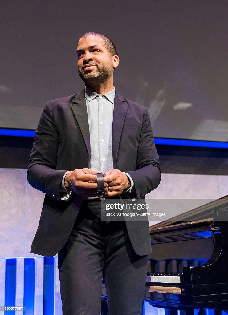 Jason Moran At Lincoln Center : News Photo
