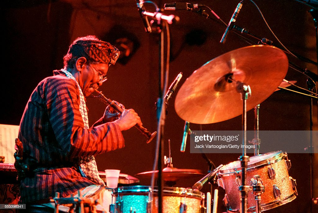 Jerome Cooper At Vision Festival 2000 : News Photo