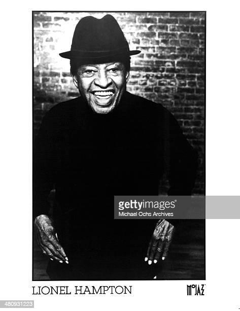 American jazz musician Lionel Hampton circa 1980
