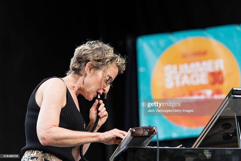 Snowy Egret At Charlie Parker Jazz Festival : News Photo