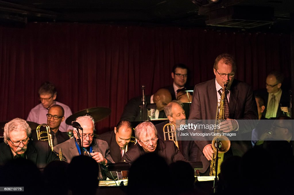 Vanguard Jazz Orchestra At The Village Vanguard : News Photo