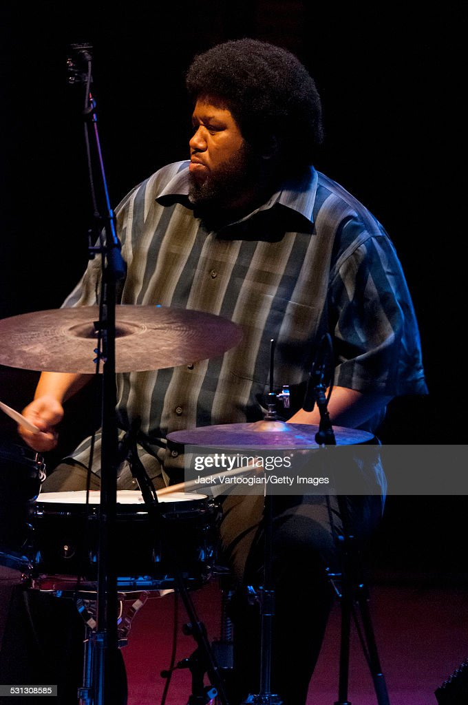 Tyshawn Sorey Onstage At Carnegie Hall : News Photo