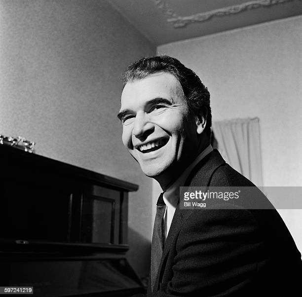 American jazz pianist and composer Dave Brubeck , circa 1960.