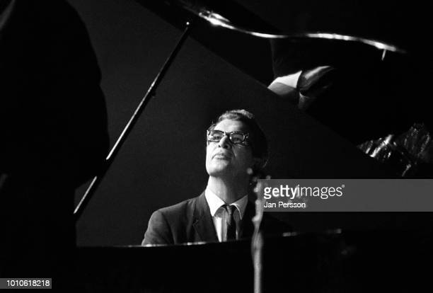 American jazz pianist and composer Dave Brubeck performing with his quartet in Copenhagen, Denmark, October 1964.
