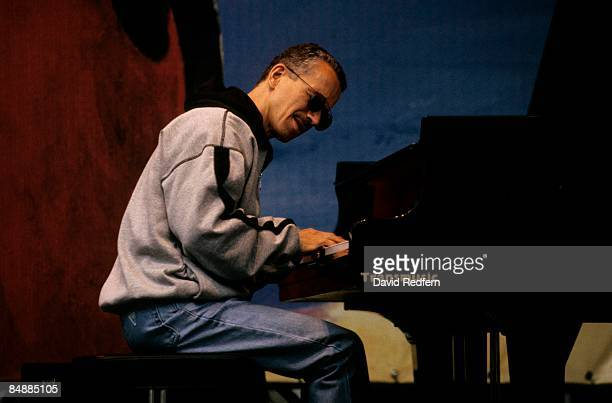 American jazz pianist and composer Keith Jarrett performs live on stage at the Jazz a Vienne Festival in Vienne, France on 8th July 1996.