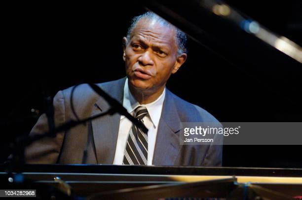 American jazz pianist and composer McCoy Tyner at Denmark Jazz Festival Copenhagen Denmark July 10 2007
