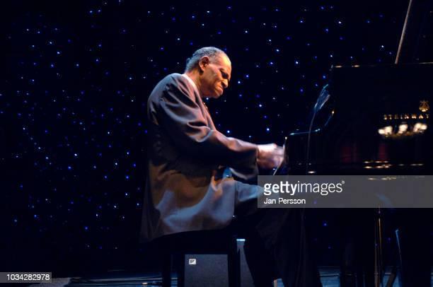 American jazz pianist and composer McCoy Tyner at Denmark Jazz Festival, Copenhagen, Denmark, July 10 2007.