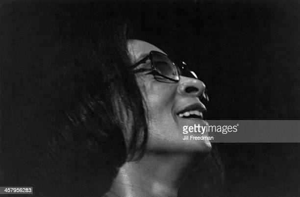American jazz pianist and composer Valerie Capers at the 'Concerts by the Sea' club Redondo Beach California 1974