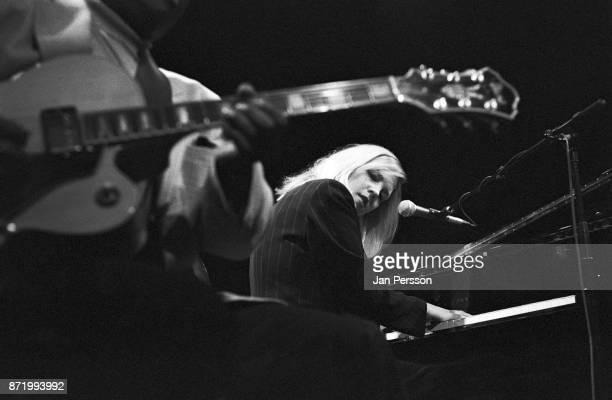 American jazz pianist and singer Diana Krall performing at Copenhagen Denmark Jazz House 1996