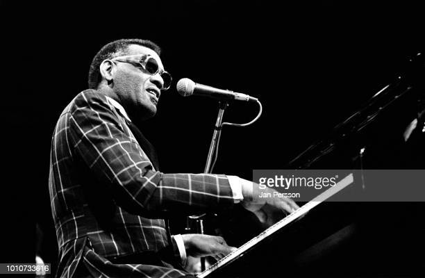 American jazz pianist and singer Ray Charles performing in Copenhagen Denmark October 1972