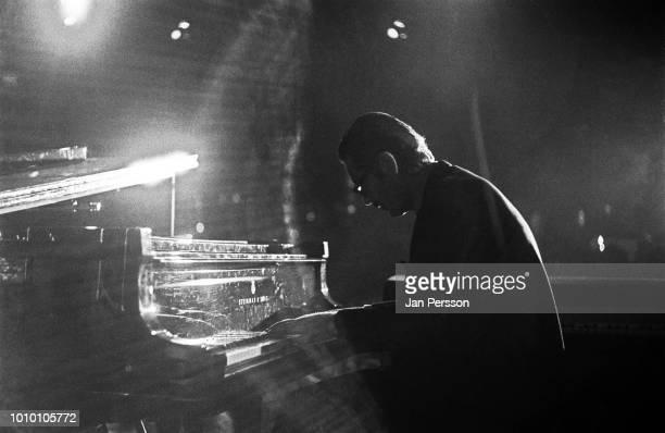 American jazz pianist Bill Evans performing at Montreux Jazzfestival Switzerland 1970