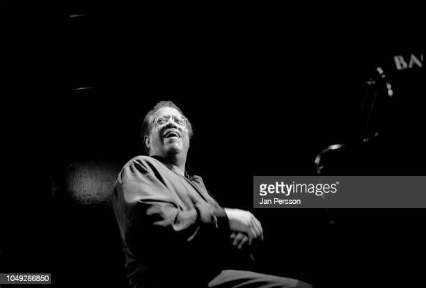 American jazz pianist Cedar Walton at Copenhagen Jazz House Denmark 2002