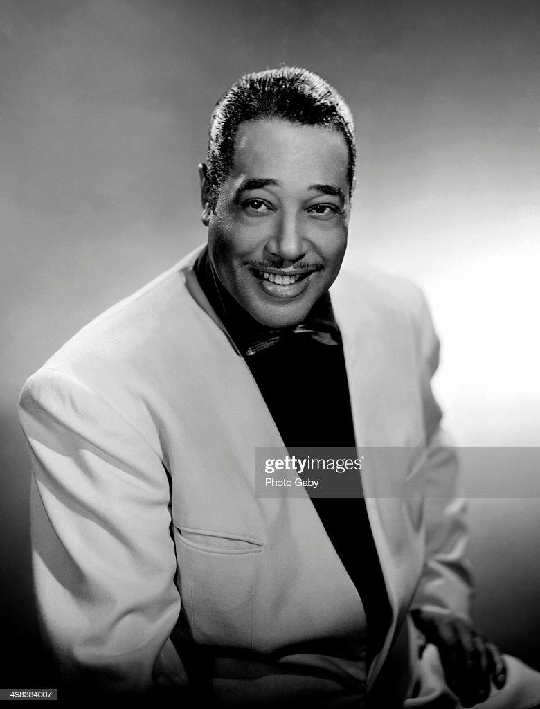 American jazz pianist, composer and bandleader Duke Ellington (1899 - 1974), 1953.