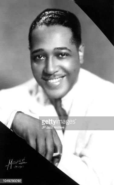 American jazz pianist composer and bandleader Duke Ellington, Chicago 1934.