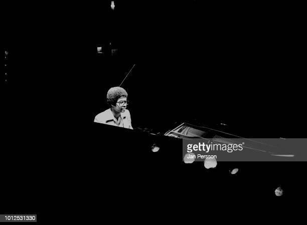 American jazz pianist composer and bandleader Herbie Hancock in Copenhagen Denmark 1978