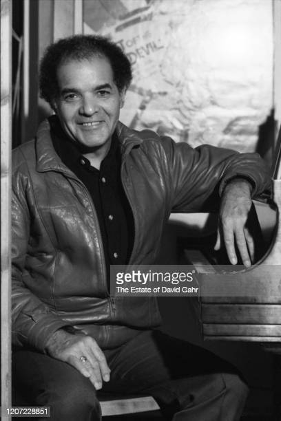 American jazz pianist composer arranger and music theorist George Russell poses for a portrait in November 1983 in New York City New York