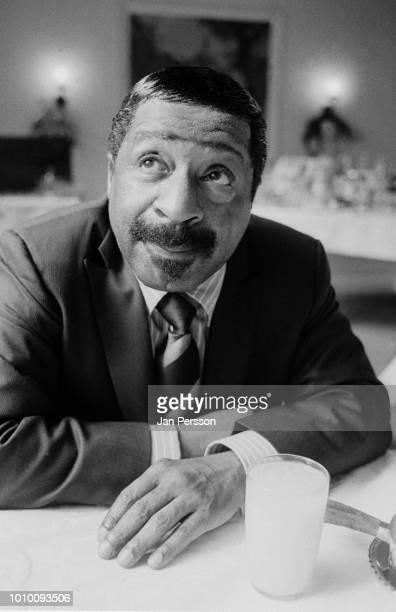American jazz pianist Erroll Garner in Copenhagen Denmark 1968