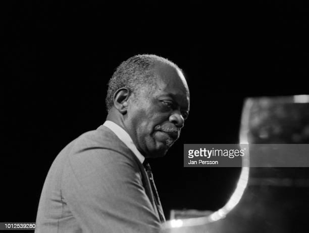 American jazz pianist Hank Jones performing in Copenhagen Denmark March 1991