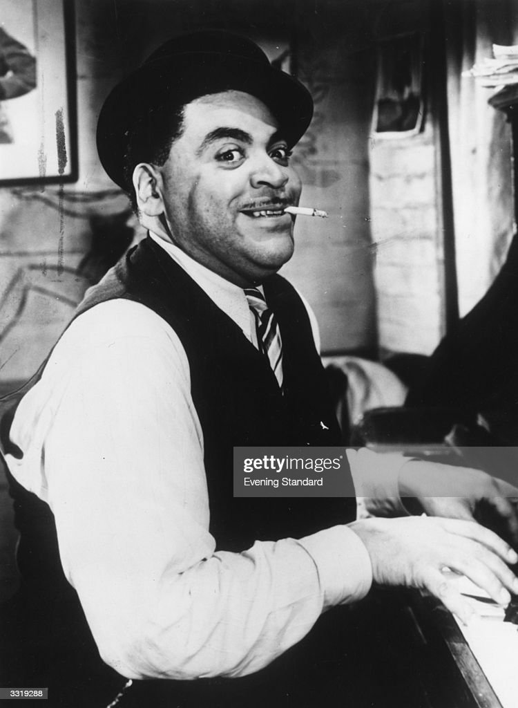 American jazz pianist, singer and songwriter Fats Waller ...