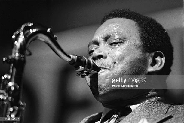 American jazz saxophone player Odean Pope performs at the BIM Huis in Amsterdam, Netherlands on 12th March 1989.