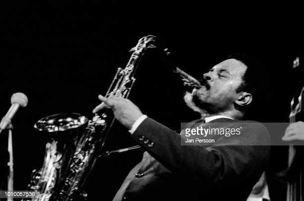 American jazz saxophonist Albert Ayler in concert Copenhagen October 1966.