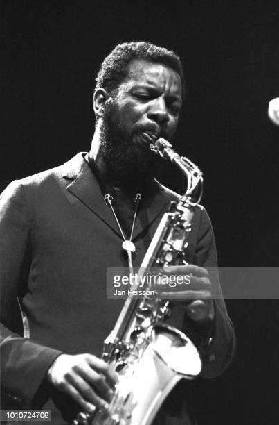 American jazz saxophonist and composer Ornette Coleman performing in Copenhagen Denmark November 1965
