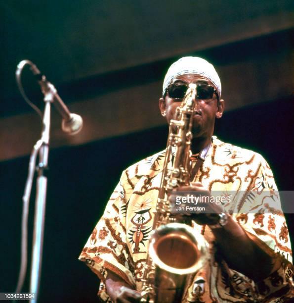 American jazz saxophonist Archie Shepp Copenhagen Denmark October 1967