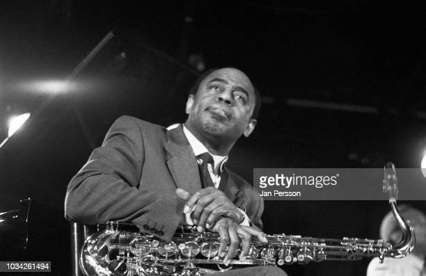American jazz saxophonist Archie Shepp performing at Jazzhus Montmartre Copenhagen Denmark January 1991