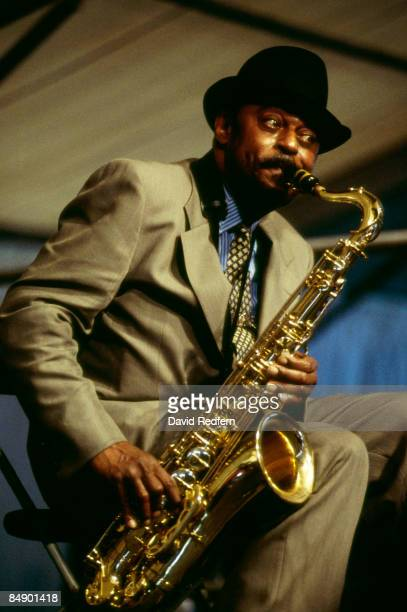 FESTIVAL Photo of Archie SHEPP Archie Shepp performing on stage