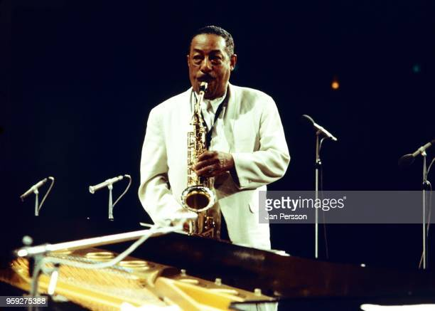 American jazz saxophonist Johnny Hodges performing with The Duke Ellington Orchestra Copenhagen Denmark 1969