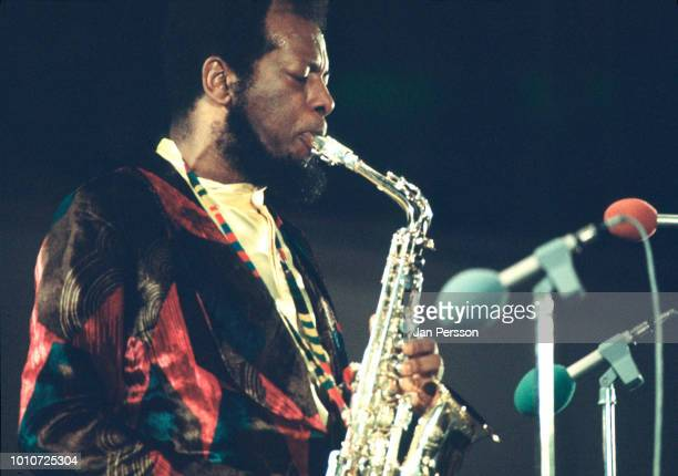 American jazz saxophonist Ornette Coleman performing in Berlin Germany October 1971