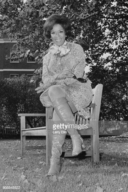 American jazz singer actress and minister Della Reese UK 9th October 1968