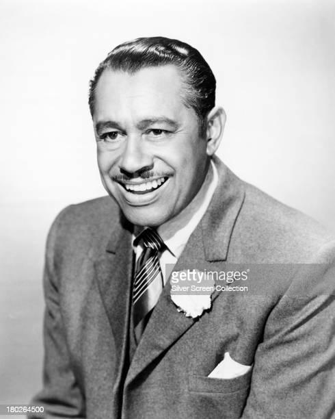American jazz singer and bandleader Cab Calloway circa 1940