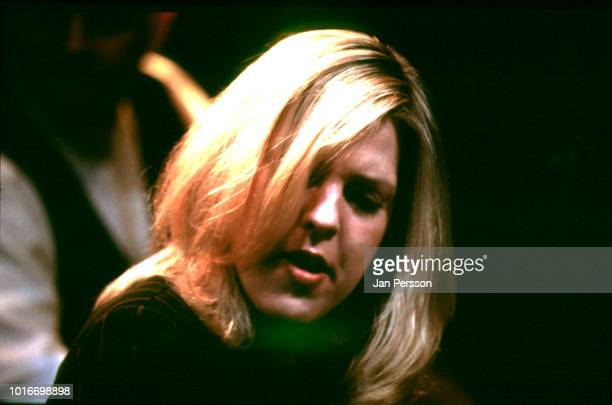 American jazz singer and pianist Diana Krall performing at Copenhagen Jazz House Denmark April 1996
