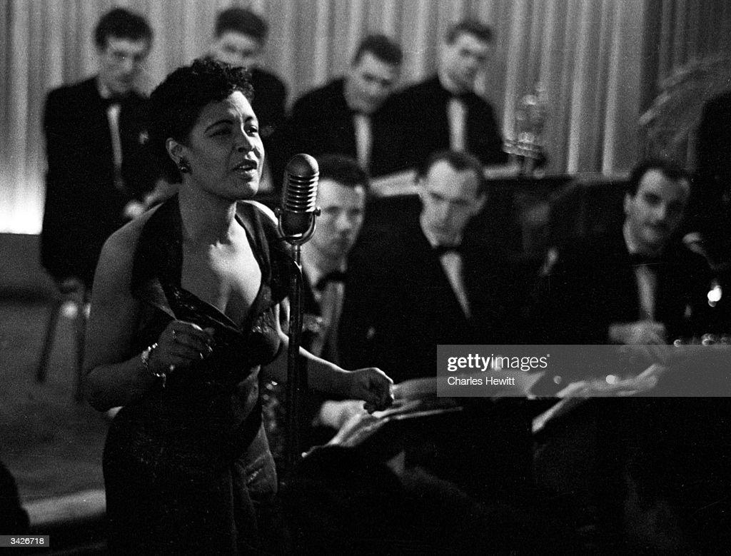 Billie Holiday : News Photo