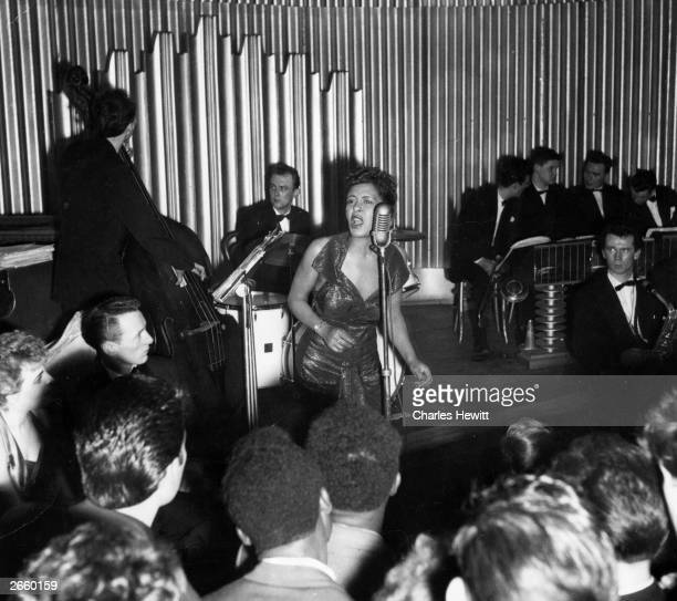 American jazz singer Billie Holiday Original Publication Picture Post 7380 Billie Holiday unpub
