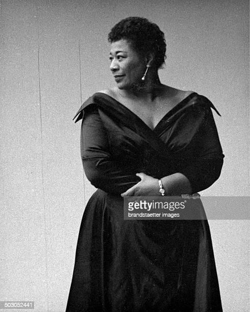 American Jazz singer Ella Fitzgerald About 1960 Photograph by Franz Hubmann