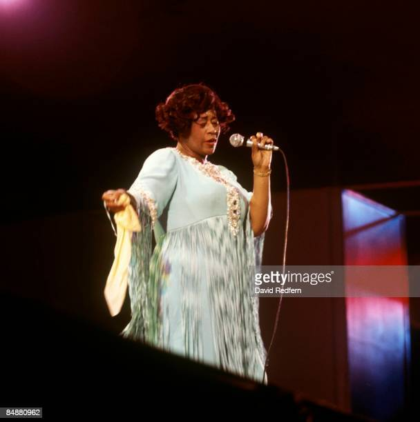FESTIVAL Photo of Ella FITZGERALD performing live onstage