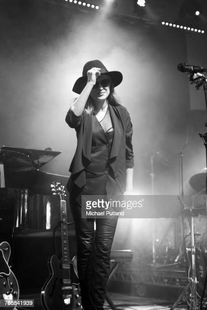 American jazz singer Melody Gardot performing at the Love Supreme jazz festival Glynde Place East Sussex 3rd July 2016