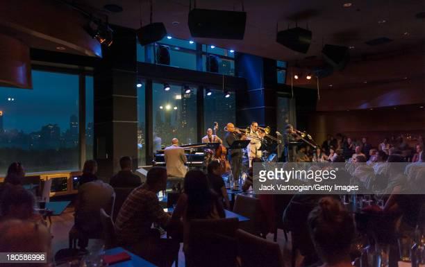 American Jazz trombonist Steve Turre leads his Bones of Art band with Robin Eubanks and Kuumba Steve Lacy also on trombones Xavier Davis on piano...