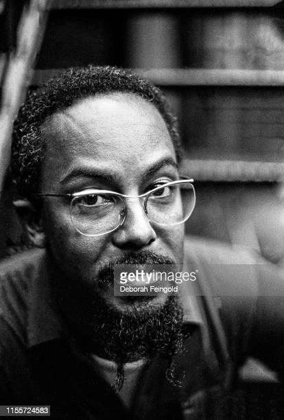 American jazz trumpet player and composer Lester Bowie poses for a portrait in 1979 in New York City New York