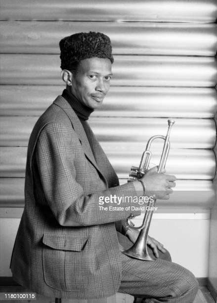 American jazz trumpeter and composer Don Cherry poses for a portrait on February 14 1987 in New York City New York